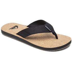 Quiksilver Molokai Abyss Nature Sandals Men black/brown/brown